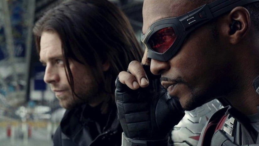 The Falcon and The Winter Soldier on Disney Plus