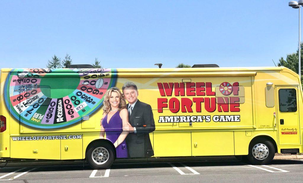 Wheel of Fortune Wheelmobile