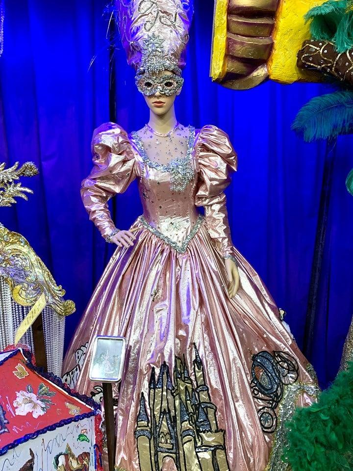Cinderella Mardi Gras Dress