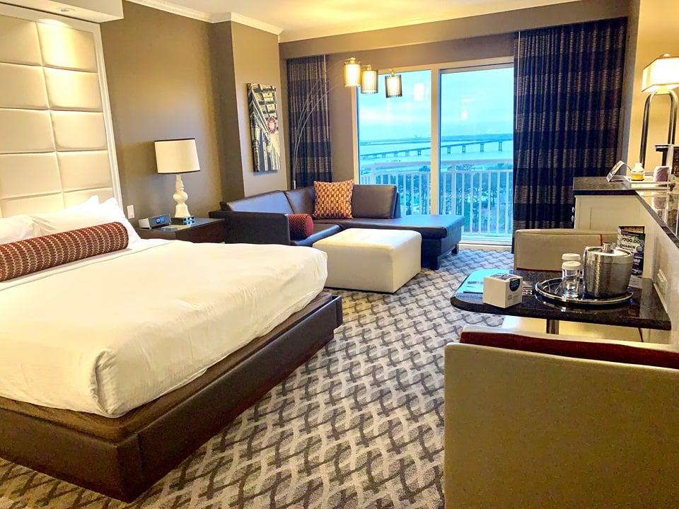Golden Nugget Lake Charles Hotel Room