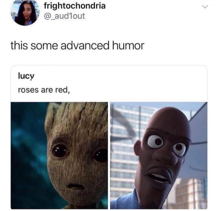 Groot Valentine Meme