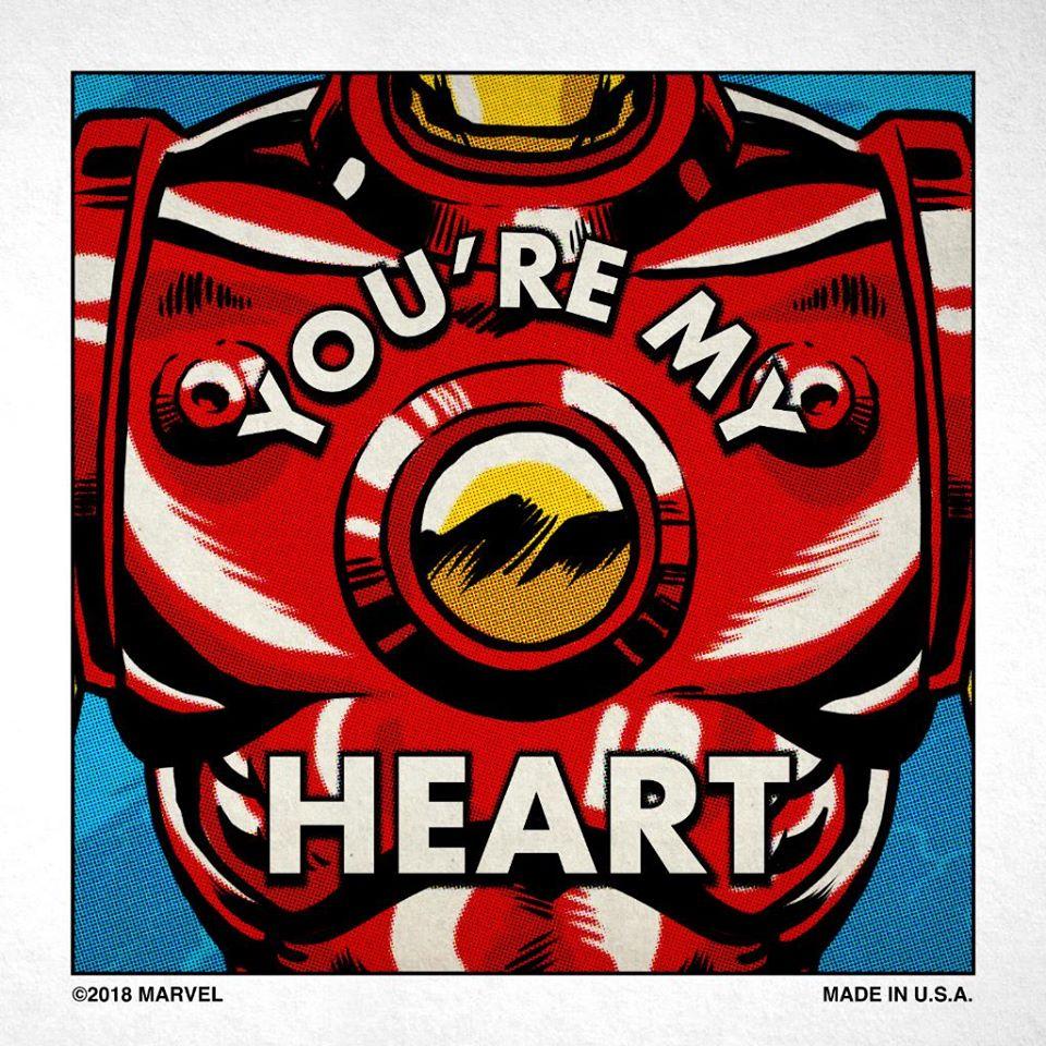 Iron Man Valentine Meme
