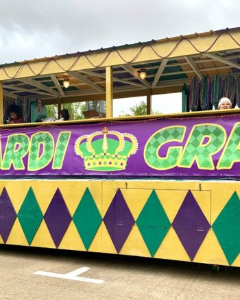 Mardi Gras Childrens Parade in Lake Charles