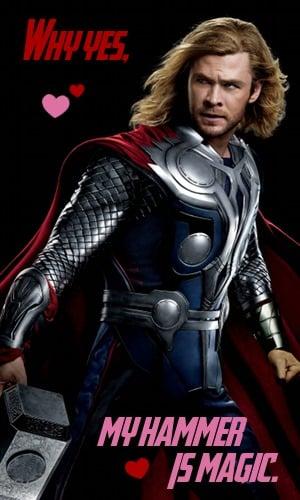 Thor Valentine Meme