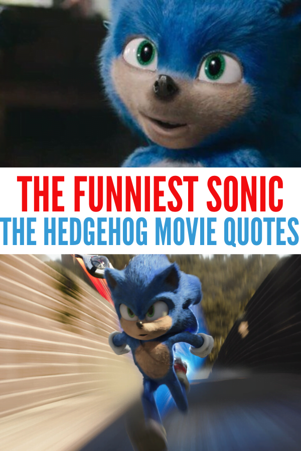 Funniest Sonic the Hedgehog Movie Quotes