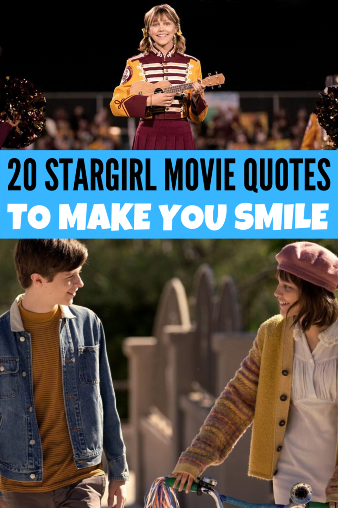 Stargirl Movie Quotes to Make You Smile