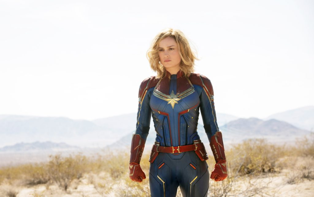 Captain Marvel is a role model for girls.