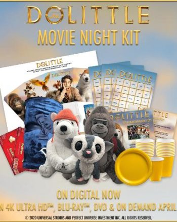Dolittle Movie Kit Giveaway Prize