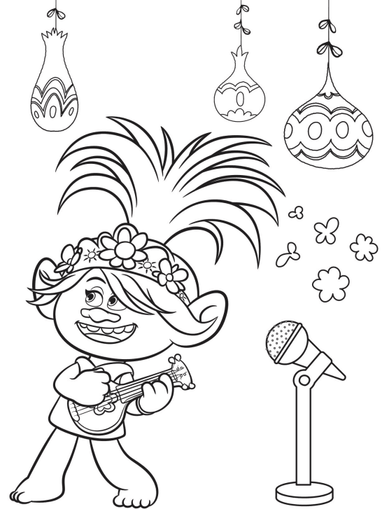 Free Trolls World Tour Coloring Pages and Printable Activities